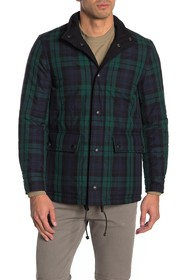 Burberry Plaid Quilted Jacket