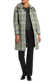 Burberry Plaid Trench Coat
