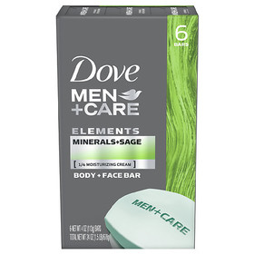 Dove Men+Care Body and Face Bar Minerals + Sage