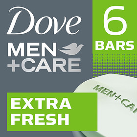 Dove Men+Care Body and Face Bar Extra Fresh