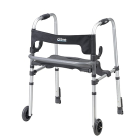 Drive Medical Clever Lite LS Rollator Walker with