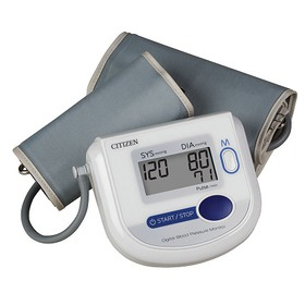 Citizen Arm Digital Blood Pressure Monitor with Ad