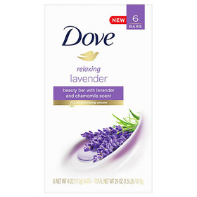 Dove Purely Pampering Relaxing Lavender Beauty Bar