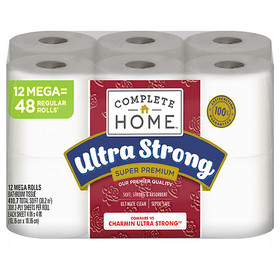 Complete Home Super Premium Ultra Strong Bath Tiss