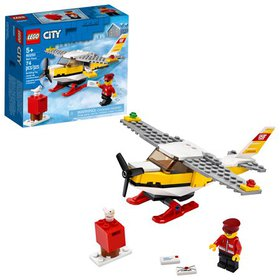 LEGO City Mail Plane 60250 Building Set for Kids (