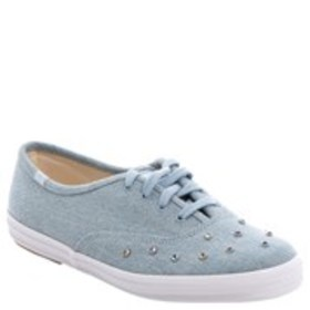 KEDS Keds Champion Womens Crystal Stud Denim Sneak