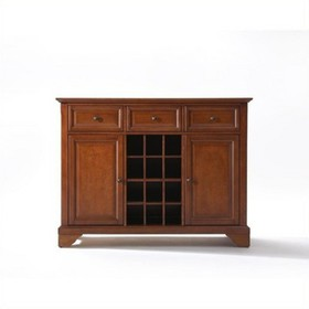 Wood Buffet Server / Sideboard Cabinet in Classic