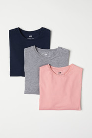 3-pack Muscle Fit T-shirts