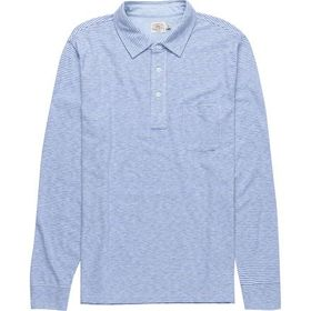 Faherty Polo Long-Sleeve Shirt - Men's