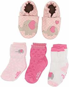 Robeez Little Peanut Sock and Soft Sole Gift Set (