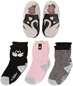 Robeez Sadie Swan Sock and Soft Sole Gift Set (Inf