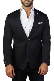 Maceoo Descartes Rebuilt Two Button Tailored Fit S