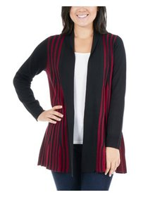 Women's Petite Size Multi-Textured Cardigan