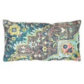 DEVI DESIGNS Feather Filled Textured Throw Pillow