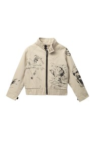 Burberry Printed Bomber Jacket (Little Boys & Big