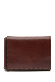 Trafalgar Triple Flip Leather Wallet