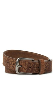 W.KLEINBERG Deep Distressed Leather Belt