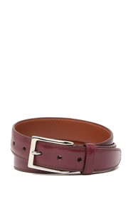 ALDEN Glazed Calf Leather Belt