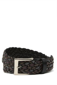W.KLEINBERG Braided Leather Belt