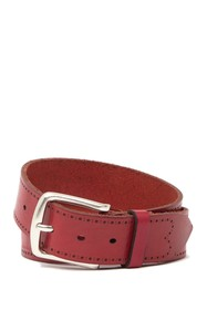 W.KLEINBERG Leather Edged Belt