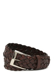 W.KLEINBERG Classic Braided Leather Belt