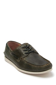 Frye Briggs Leather Boat Shoe