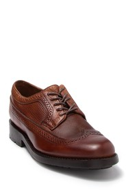 Frye Bowery Leather Wingtip Derby