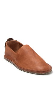 Frye Montauk A Line Leather Slip-On Shoe