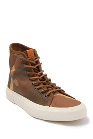 Frye Ludlow Canvas High-Top Sneaker