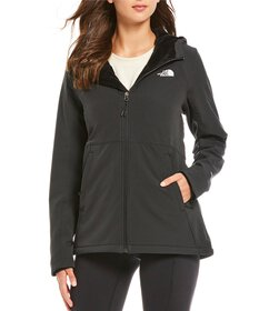 The North Face Shelbe Mock Neck Zip Front Solid Ra