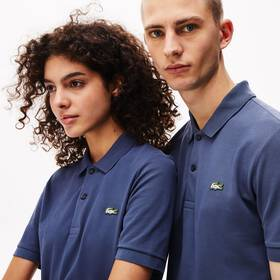 Lacoste Unisex LIVE Slim Fit Stretch Cotton Piqué