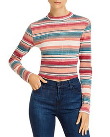 Roxy - Smooth Move Striped Cropped Top