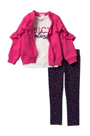 Juicy Couture Ruffle Jacket