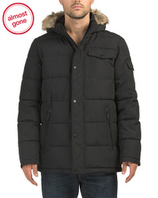NAUTICA Parka With Removable Hood