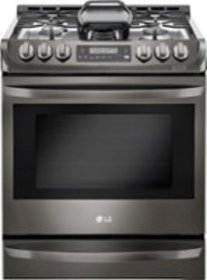 LG - 6.3 Cu. Ft. Self-Cleaning Slide-In Gas Range