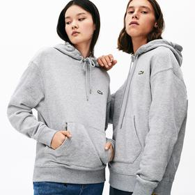 Lacoste Unisex LIVE Kangaroo Pocket Hooded Sweatsh