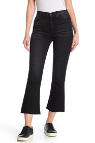 HUDSON Jeans Holly High Rise Crop Flare Jeans