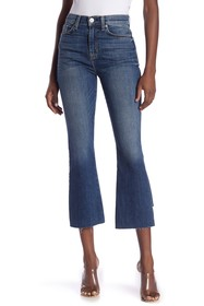 HUDSON Jeans Holly High Waisted Flared Cropped Ste