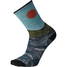 Smartwool Curated Catchin Waves Crew Sock - Men's