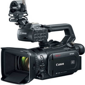 Canon XF400 UHD 4K60 Camcorder with Dual-Pixel Aut