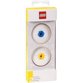 Lego® Erasers 2 ct Pack