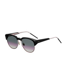 Dior Spectral 8 Semi-Rimless Sunglasses