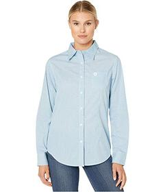 Wrangler George Strait For Her Button-Down Print T