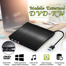 External DVD Drive, USB 3.0 External DVD RW CD Wri