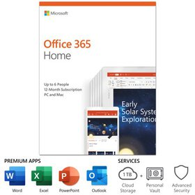 Microsoft Office 365 Home | 12-month subscription,