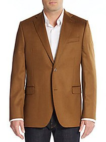 Saks Fifth Avenue Slim-Fit Solid Cashmere Sportcoa