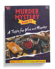 UNIVERSITY GAMES CORP Taste For Wine And Murder Ga