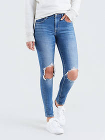 Levi's 721 High Rise Ripped Skinny Women's Jeans