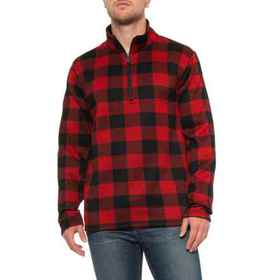 Stillwater Supply Co Red Buffalo Check Sweater - Z