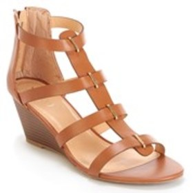 Womens Caged Wedge Sandals